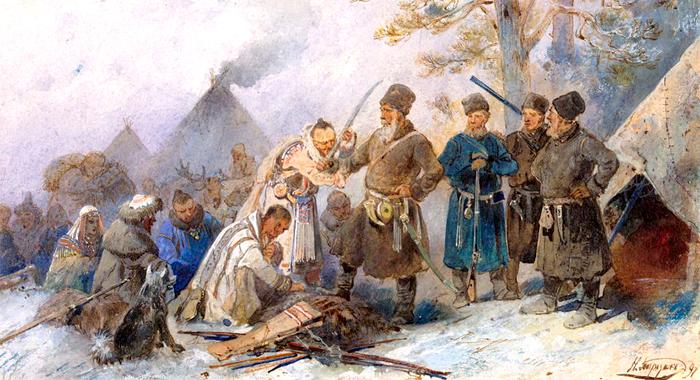 покорение Сибири русскими казаками