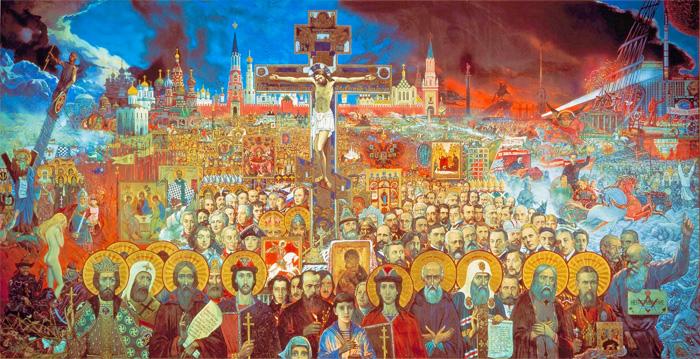 Великая Россия Илья Глазунов