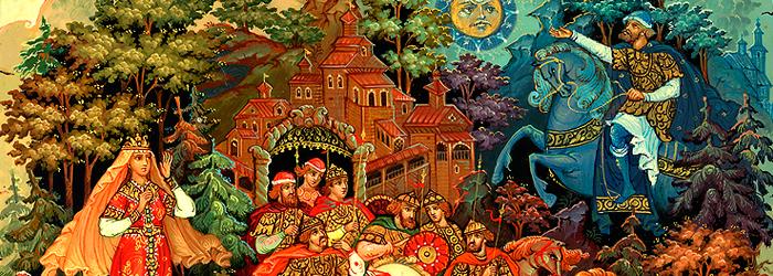 Русские народные росписи и промыслы