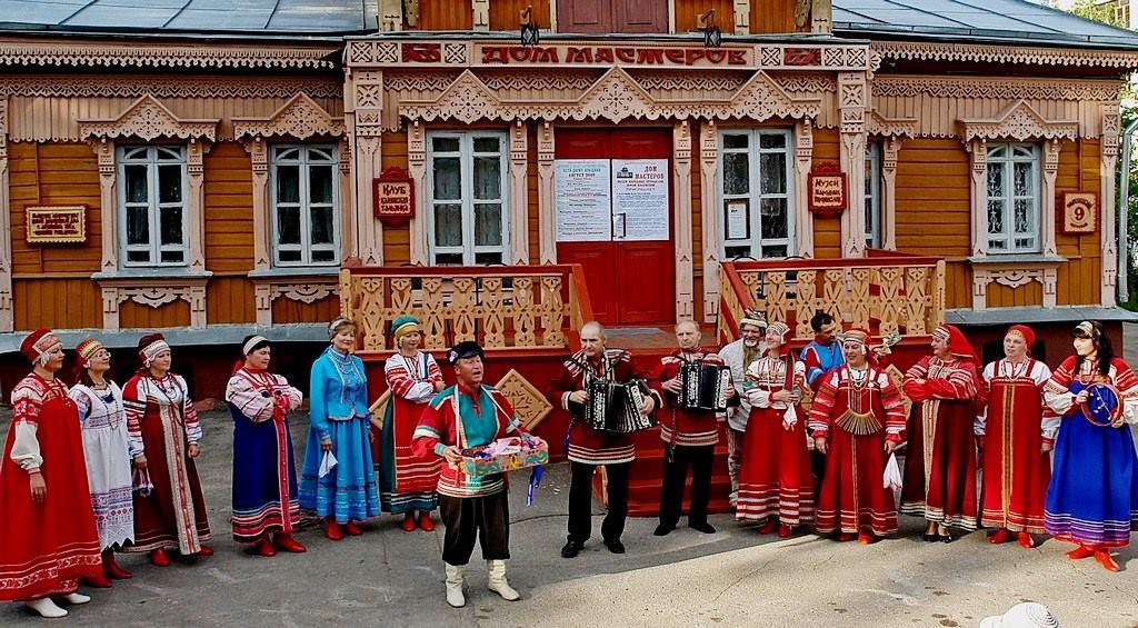 Концерт в Доме мастеров в городе Калуга