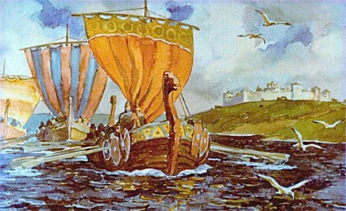 новгородские корабли