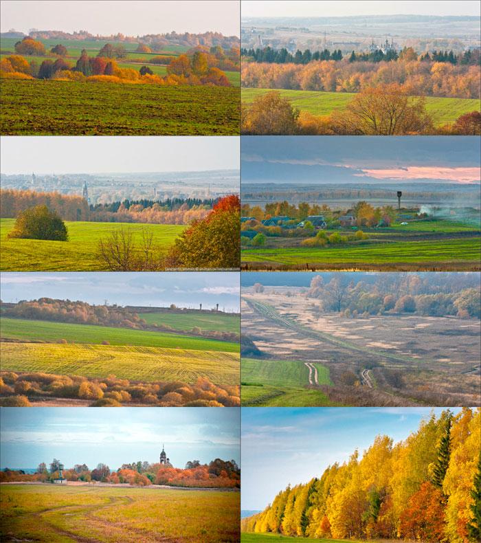 Владимирское Ополье ландшафт и классический русский пейзаж