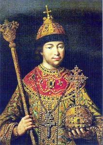 русский царь Михаил Романов