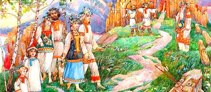 Русские языческие персонажи